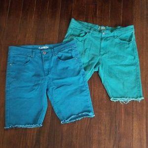 💛 mens colored shorts